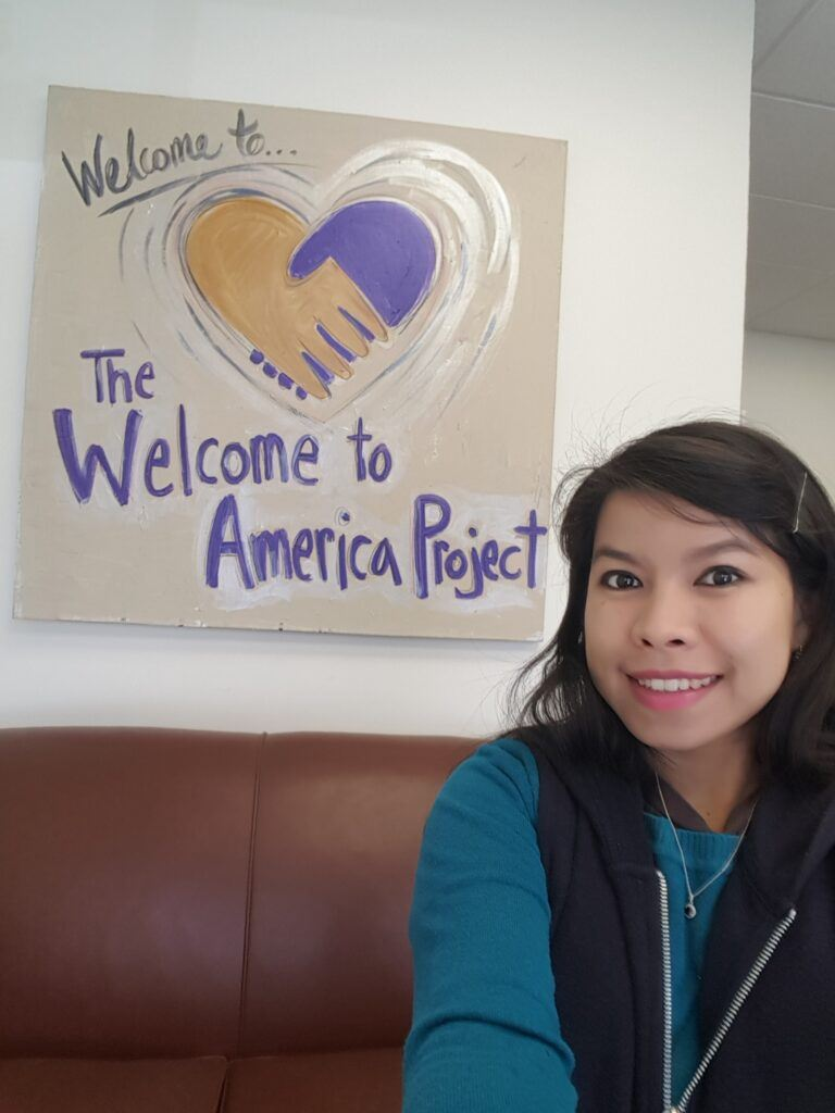 Ferra Spencer at The Welcome to America Project, Arizona
