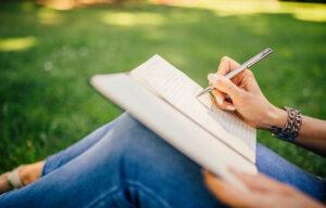 Writing journal helps with stress and anxiety