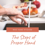 The Steps of Proper Hand Washing: WHO Hand Hygiene