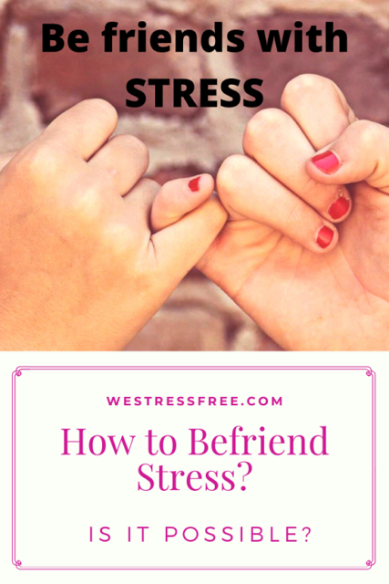 #howtobefriendstress - How to Be friends with stress