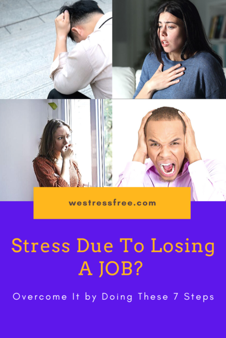Stress Due To Losing A Job