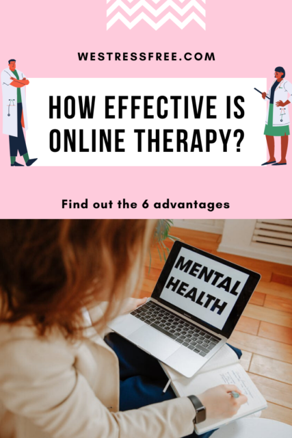 How effective is online therapy? - Online psychological therapy to help with mental disorders/illness