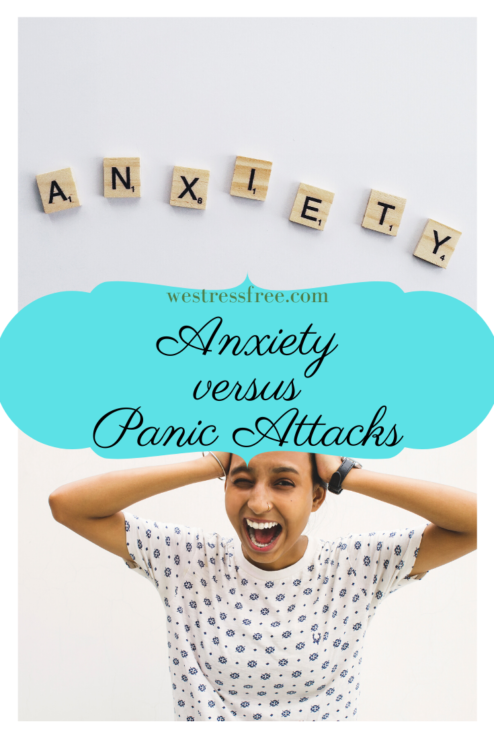 Anxiety versus Panic attack