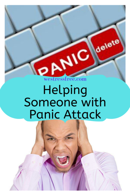 Helping someone with panic attack
