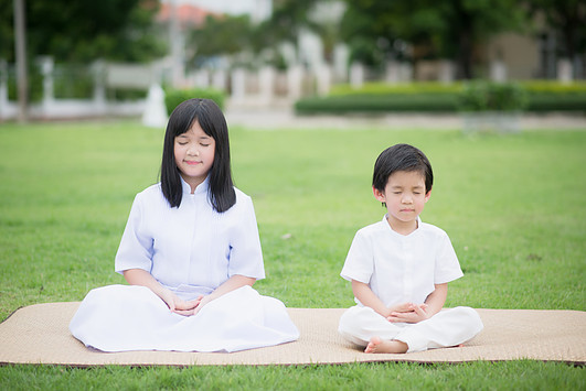 Meditation advantages for children