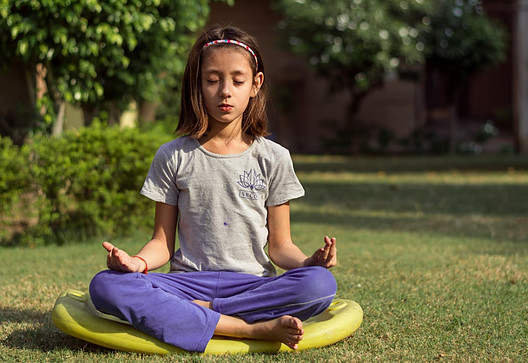 Meditation benefits for children