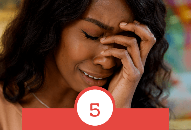 5 UNHEALTHY BEHAVIORS TRIGGERED BY STRESS