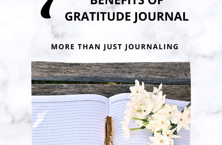 The Power of GRATITUDE JOURNAL