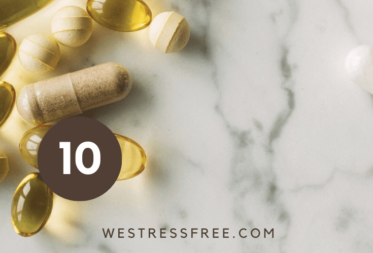 BEST Vitamins and Supplements for STRESS