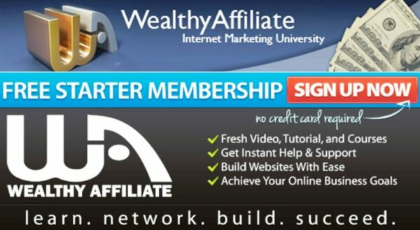 Build your online business now with WEALTHY AFFILIATE