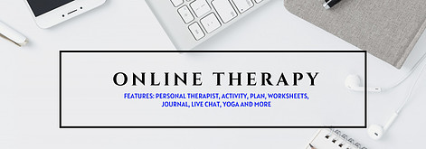 Online therapy to help with stress, anxiety, or depression