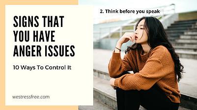 2. Think before you speak