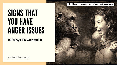 8. Use humor to release tension