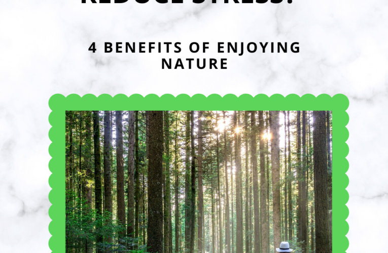 CAN NATURE REDUCE STRESS? – Benefits Of Enjoying Nature