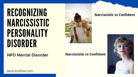 Narcissistic vs Confident