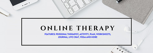 Online therapy for stress, anxiety, or depression