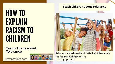 Teach Children about Tolerance