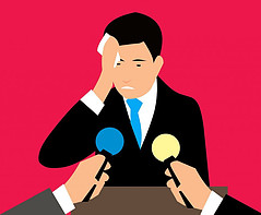 Social phobia example: fear of doing a public speaking